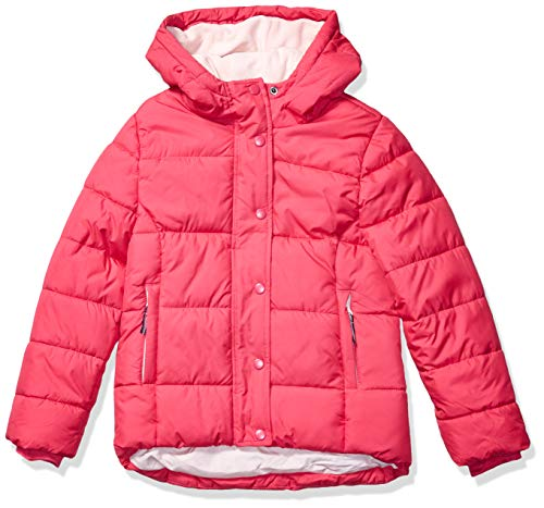 Amazon Essentials Girls' Heavy-Weight Hooded Puffer Coat