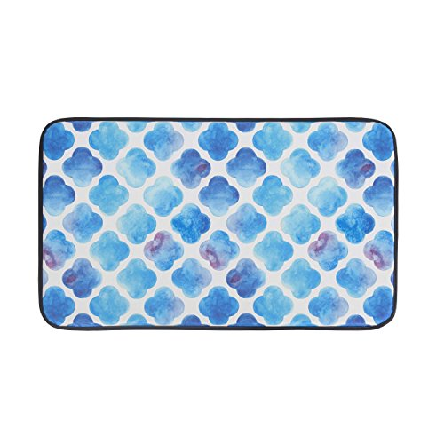 chef-gear-18-x-30-anti-fatigue-faux-leather-watercolor-clover-kitchen-mat