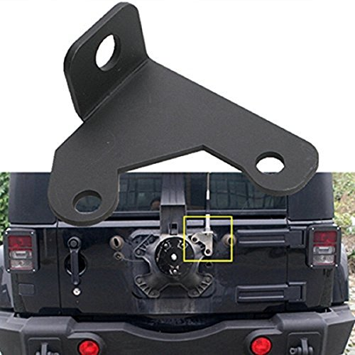 Spare Tire CB Antenna Mount JK Jeep Wrangler Unlimited