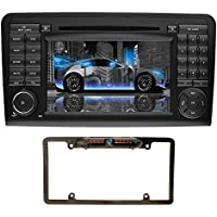 YINUO 7 inch 2 Din Android 7.1.1 Quad Core Car Stereo HD Touch Screen Car Radio Receiver DVD GPS Navigation for Mercedes-Benz ML-W164/W300/ML350/ML450 ,Free Mic 8GB Map Card and Backup Camera