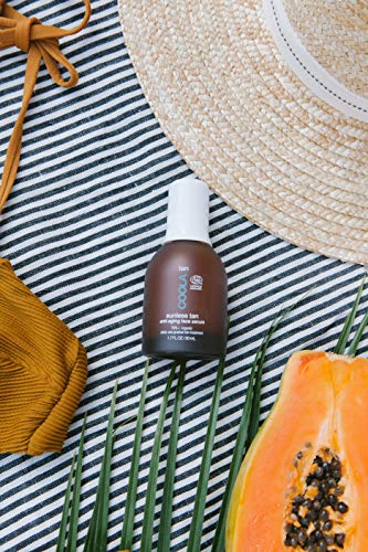 511x ndaqnL - COOLA Organic Sunless Tan Anti-Aging Face Serum | Antioxidant Enriched | Gradual Tan | Transfer-Free | Fast Drying | Pina Colada