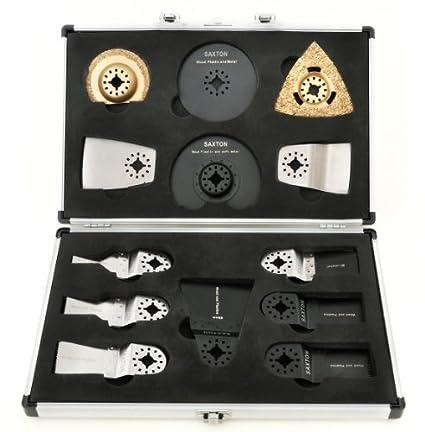 Amazon Com Saxton Sh13cs01 13 Blades Case Set For Fein Multimaster
