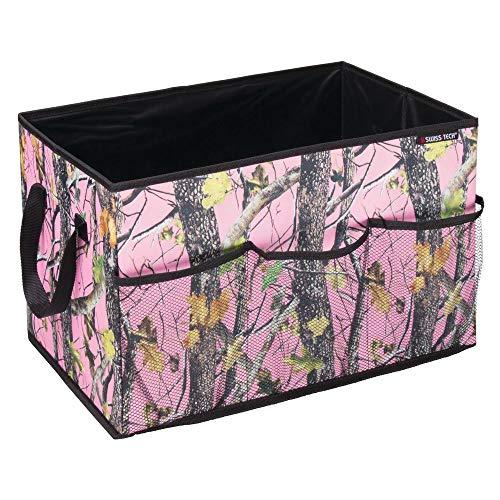 - Swiss+Tech ST80341 Woodland Camouflage Trunk or Cargo Organizer Bin for Cars/Trucks/SUVs/RVs (Pink Forest/Black)