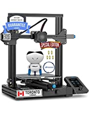 3D printer Ender 3 V2 from 🎃🍁Canadian Seller Since 2017 🍁🎃Ender 3 V2 Special Edition with FREE 1 Meter Capricorn Tube + FREE 5pcs 3D printer nozzles Glass Platform 220x220x250mm Silent Motherboard 4.2.2 FDM 3D Printer Carborundum Glass Bed
