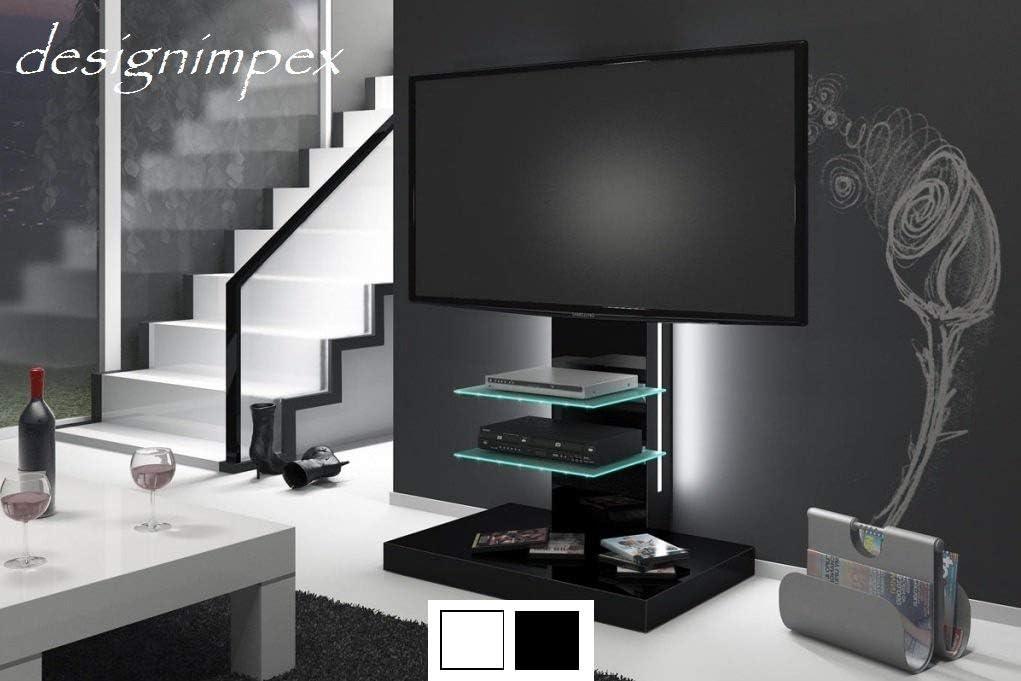 Televisión H-444 negro mesa de TV mesa para televisores TV incluye TV-soporte: Amazon.es: Hogar