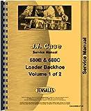 Case Tractor Loader Backhoe Service Manual (CA-S-680B,CTLB)