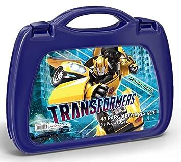 Transformers 43 Parça Erkek çocuk Boyama Seti 5504 Amazoncomtr