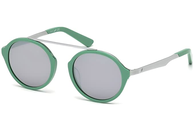 Gafas de sol Web WE0147 C49 16C (shiny palladium / smoke ...