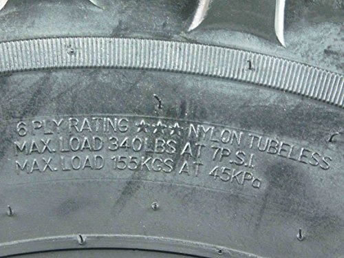 One Pair of MassFx P377 ATV/UTV Front Tires 25x8-12 Front Set of 2 25x8x12 by MASSFX (Image #3)