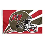 Cheap Fremont Die NFL Tampa Bay Buccaneers 3-by-5 Foot Helmet Flag