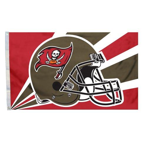 (Fremont Die NFL Tampa Bay Buccaneers 3-by-5 Foot Helmet Flag)