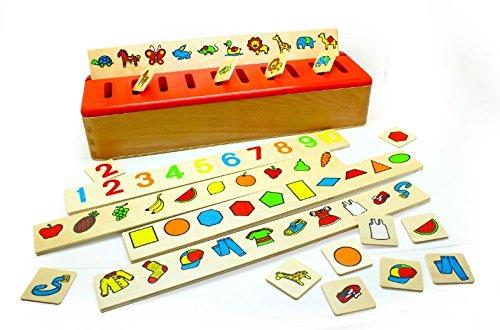 Edufun - Ef 31105 - Jouet en Bois - Boîte de Tri Montessori
