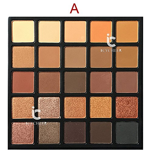 ICYCHEER Professional Eyeshadow Palette Makeup Copper Spice