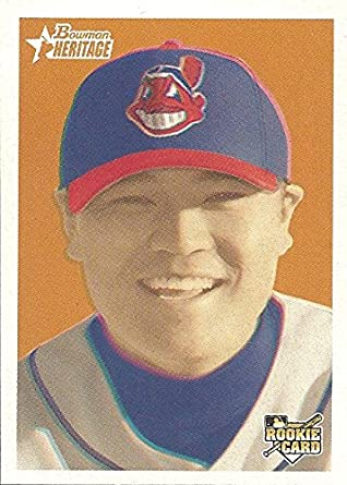 Shin Soo Choo Collectible Rookie Baseball Card 2006 Bowman