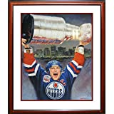 Mark Messier Lithograph Painting Framed, Ltd Edition /1111