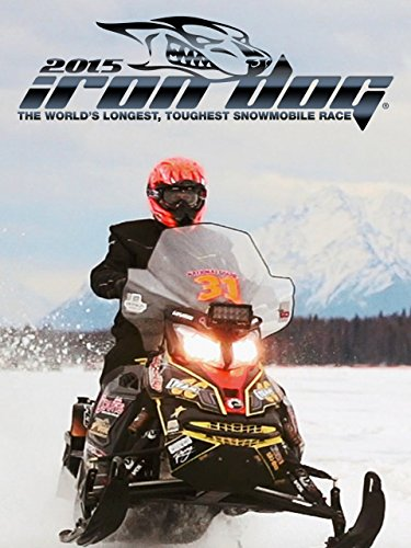 (2015 Iron Dog Snowmobile Race)