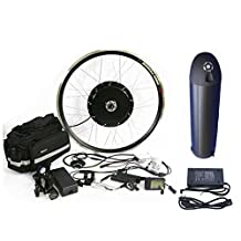 Waterproof 48V1000W Hub Motor 12AH Li-on Battery Powered Electric Bike Conversion Kit + LCD Theebikemotor