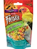 Kaytee 2.5-Ounce Fiesta Healthy Toppings Papaya for Birds, My Pet Supplies