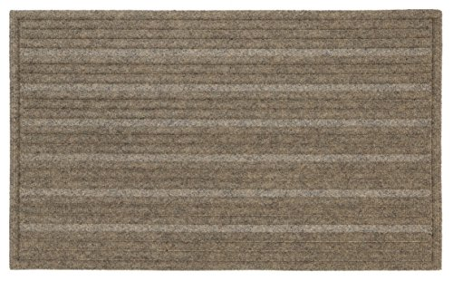 - Mohawk Home Impressions Ribbed Chestnut Door Mat, 1'6x2'6