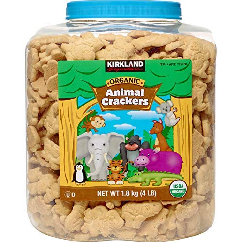 Kirkland Signature Organic Animal Crackers, 64 oz, 4 ()