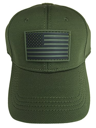 Condor Flex Tactical Cap (OD Green, S/M) + FREE Flag Patch