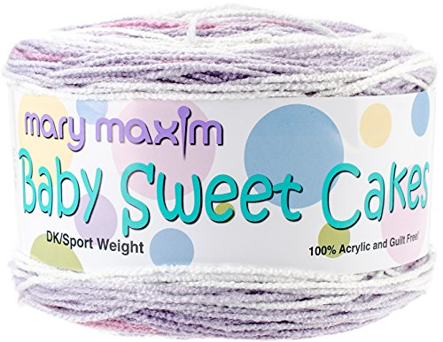 Sweet Cakes Baby (Mary Maxim Cuddletime Baby Sweet Cakes Yarn)