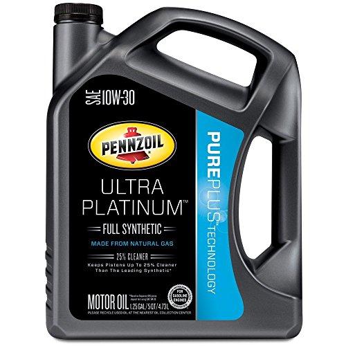 Pennzoil 550038331 3pk ultra platinum 10w 30 full for Pennzoil full synthetic motor oil