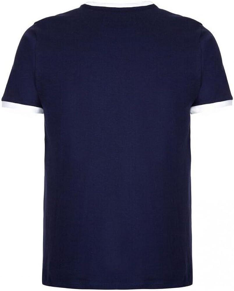 Fila Marconi Crew Neck T-Shirt Navy