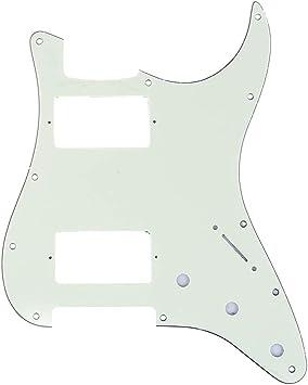 Pickguard E-Gitarre I Standard 11-Loch 3-lagig Tortoise H