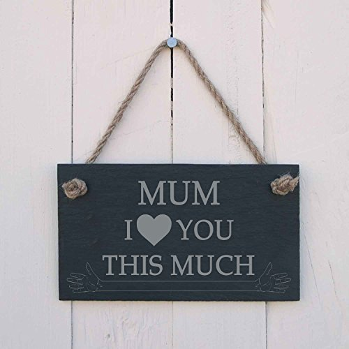 'MUM I [love] you this much'