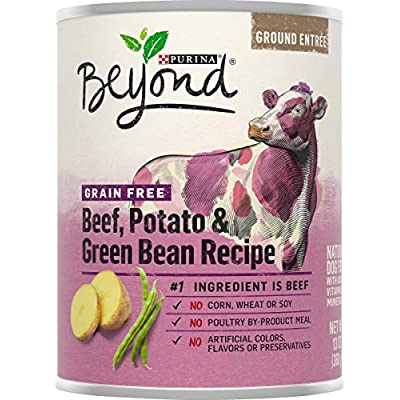 Purina Beyond Dog Food - Grain Free Beef, Potato and Green Bean Recipe 13 oz.