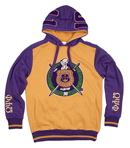 Omega Psi Phi Fraternity Mens New Athletic Hoodie Extra Large (Omega Psi Phi Clothing)