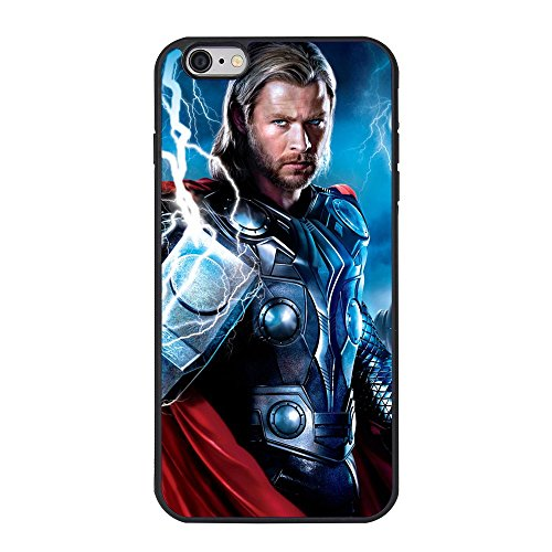 Thor Case for Iphone 6 Plus, Thor God of Thunder Iphone 6 Plus/6s Plus 5.5 Inches TPU Case