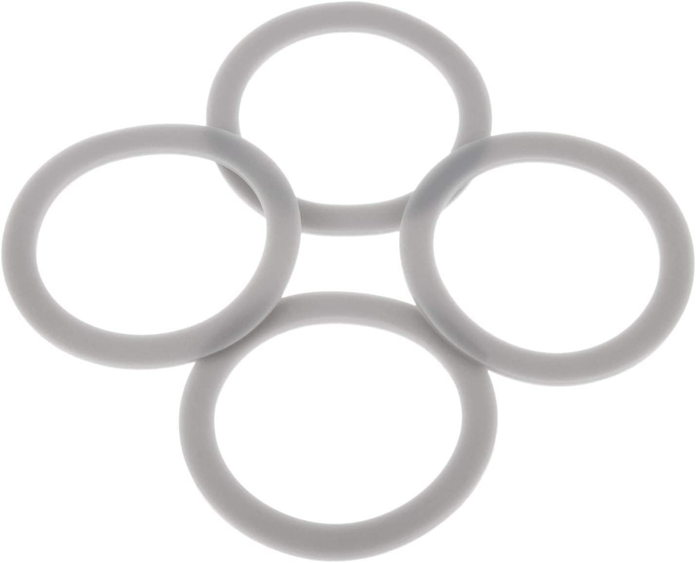 Blender Seal O-Gasket Rubber Sealing O-Ring Gasket, Replace # 132812-07, Replacement for Black & Decker Blender BL1900 BL3900 BL4900 BL5000 BL5900 BL6000 (Pack of 4)