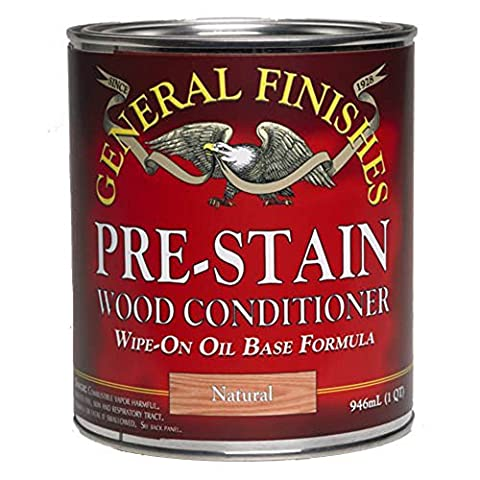 Pre-Stain Wood Conditioner, 1/2 Pint (Pre Stain Conditioner)