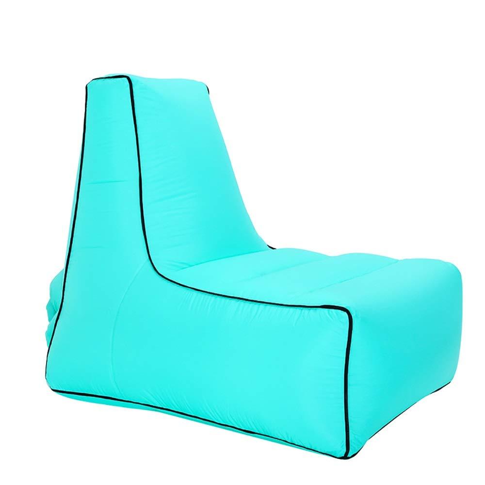 vert M(85x70x80cm) Peu east Sofa portatif de décompression de Sofa d'air de lit d'air Gonflable d'intérieur et extérieur de lit Gonflable de Sac de Couchage