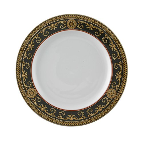 Versace by Rosenthal Medusa Red 10 1/2-Inch Dinner - Versace Red