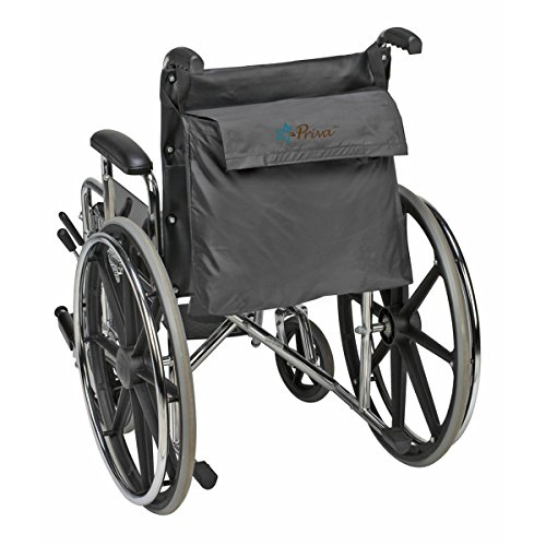 Priva Wheelchair Bag with Velcro Closure and Exterior Pocket,  19