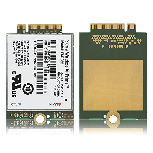 fosa EM7355 100Mbps + 50Mbps 4G LTE FDD NGFF M.2 Wireless Module Card PC/Laptop by fosa (Image #6)