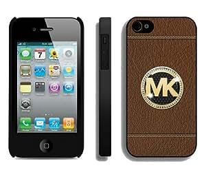 Diy Design Michael Kors 141 Black iPhone 4S Protective Phone Case