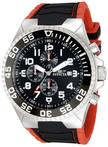 invicta watch red dial - 4