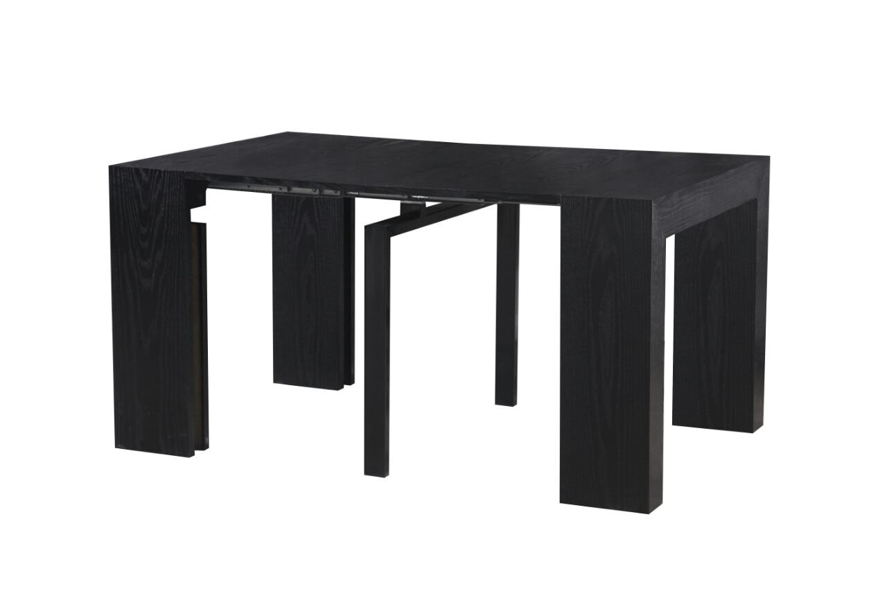 Amazon.com   MiniMax Decor Extendable Space Saving Modern Dining Table,  Transforms From A Console Table Or Desk To A Large Dining Table That Seats  Up To ...