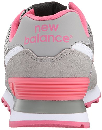 New Balance WL 574 CPF Womens Suede & Synthetic Trainers Grey - 40.5 EU