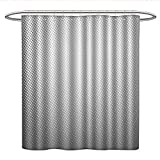 Best Creative Bath Shower Caddies - Grey Decorcloth Shower curtainDigital Soft Dots Spots on Review