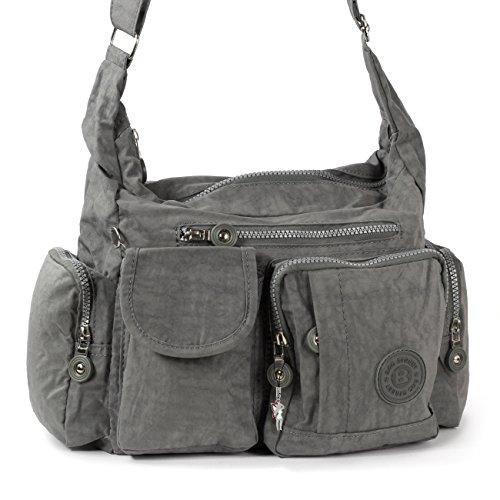 Bag Street Tasche Mädchen Girl - Freizeit - Sport - Schule - beige - Neu