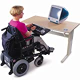Accessible Activity-PC Table-Hand Crank Adjust-DS
