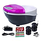Product review for Healcity Panel Control Ion Ionic Detox Foot Bath SPA Machine Aqua Cleanse + Massager Tub 2 Arrays