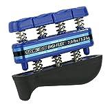 CanDo 10-0743 Digi-Flex Hand Exerciser, Finger 7.0 lb/Hand 23.0 lb, Blue-Heavy
