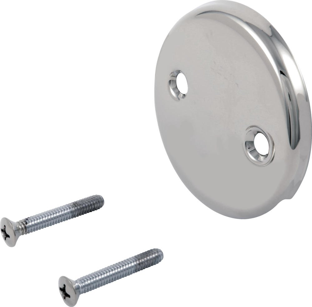 Delta Faucet RP31556 Overflow Plate and Screws, Chrome by DELTA FAUCET