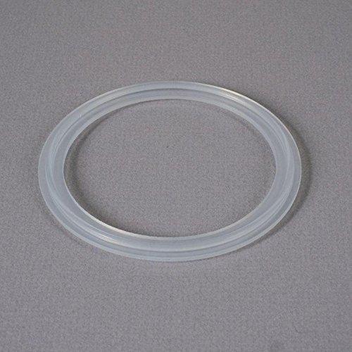 Silicone Gasket   Tri Clamp 3 inch Platinum Cured - FDA - Glacier Tanks - (50 Pack)